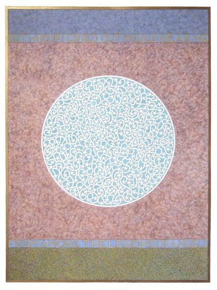 Tom Phillips, 'Angels: Rilke', 2012