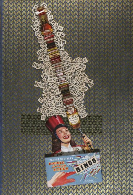 Margaret Rizzio, 'Double Pick-Up Sticks'