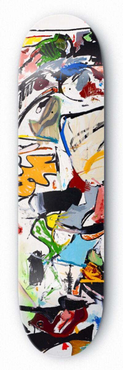 Eddie Martinez, 'Signed limited edition skateboard deck ', 2016