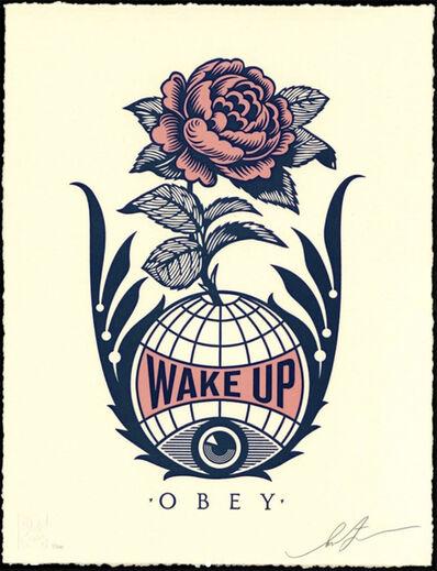 Shepard Fairey, 'Wake Up Earth - Letterpress', 2020