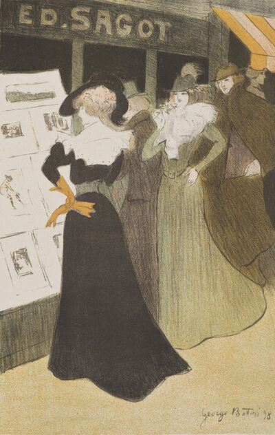 Georges Bottini, 'Sagot's Lithography Gallery', 1898