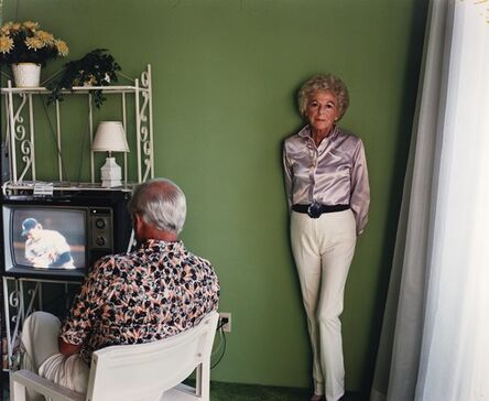 Larry Sultan, 'My Mother Posing For Me', 1984