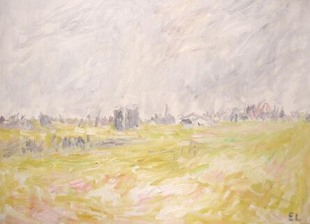 Eugene Leake, 'Winter Farm - Winter Light', 1989