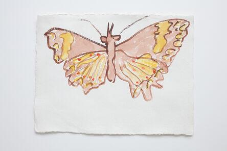 Joan Jonas, 'Brown / Yellow Butterfly', 2006