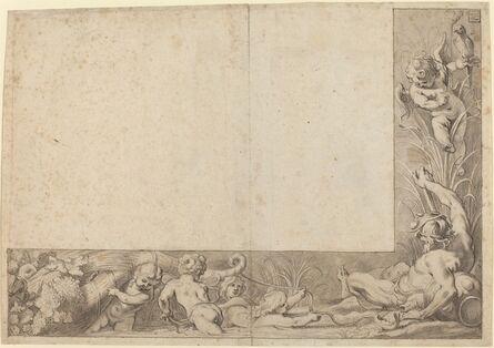 Cornelis Schut I, 'River God with Putti'
