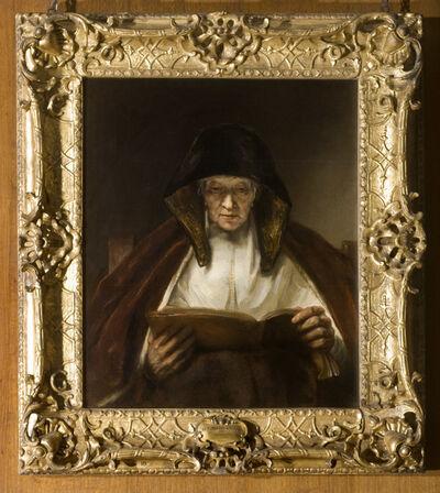 Rembrandt van Rijn, 'An Old Woman Reading', 1655