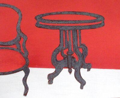 Angela A'Court, 'Grey Table, Grey Chair ', 2012