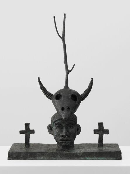 Walter Dahn, 'Die natürliche Dreifaltigkeit', 1985