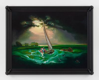 Kehinde Wiley, 'Fishermen at Sea (Jean-Frantz Laguerre and Andielo Pierre)', 2017