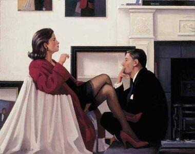 Jack Vettriano, 'Models in the Studio', 21st century