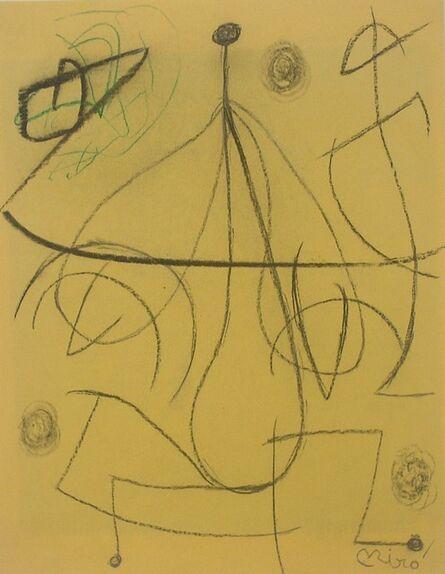 Joan Miró, 'Femme, Oiseaux', 1977