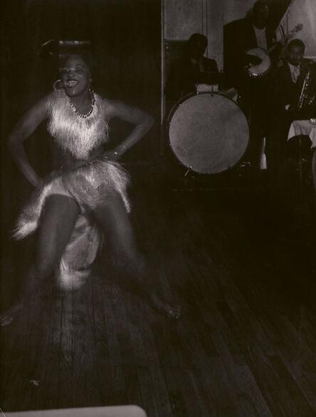Brassaï, 'Gisèle a La Boule Blanche, Montparnasse, Paris', c. 1932
