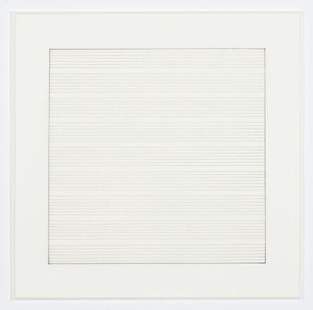 Agnes Martin, 'Untitled (4)', 1991