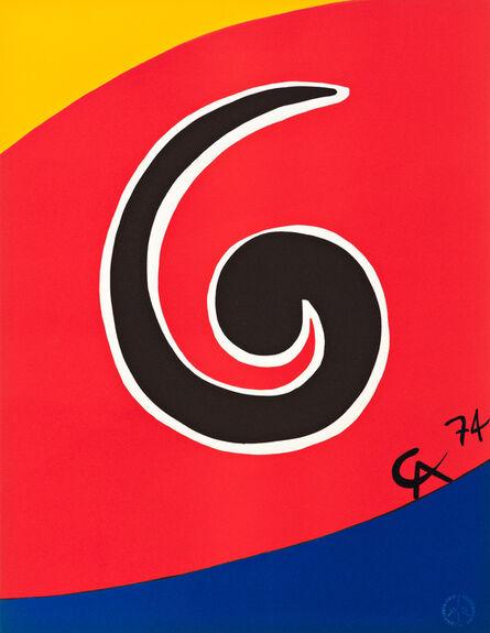 Alexander Calder, 'Flying Colors Set', 1974