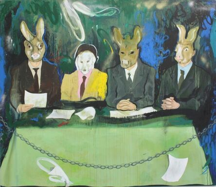 Luka Kurashvili, 'The Judges', 2017