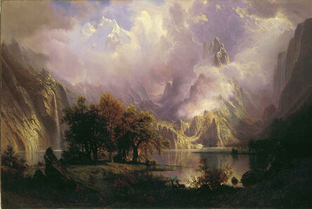 Albert Bierstadt, 'Rocky Mountain Landscape', 1870