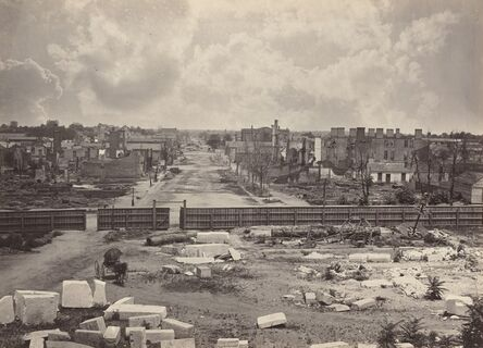 George N. Barnard, 'Columbia from the Capitol', 1865-1866
