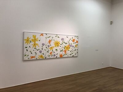 Alex Katz, 'Summer Flowers Canvas', 2018