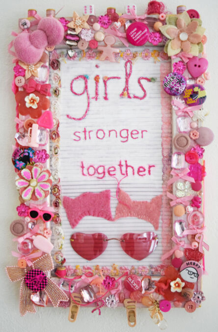 Alyson Vega, 'Girls Stronger Together', 2019