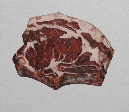 Ralph Fleck, 'Steak 19/VI (Shorthorn Galloway)', 2020