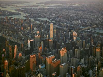 Jeffrey Milstein, 'NYC Horizon 28 Upper East Side - NY Aerials', 2017