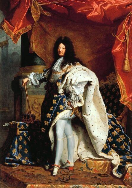 Hyacinthe Rigaud, 'Louis XIV', 1701