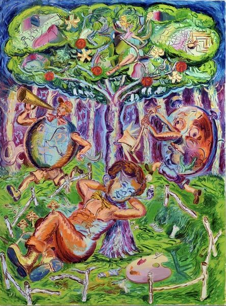 Jaime Valtierra, 'Dream Of The Artist', 2020