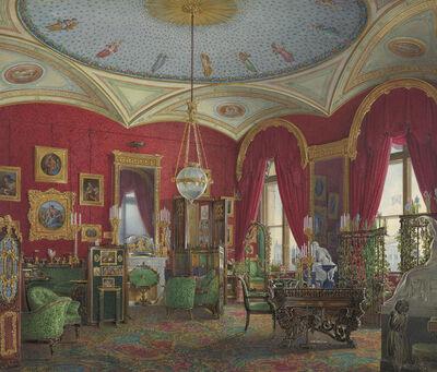 Edward Hau, 'The Study of Empress Alexandra Fyodorovna in the Winter Palace', 1858