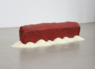 Wolfgang Laib, 'Rice House', 2009
