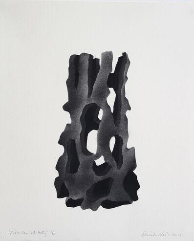 David Nash, 'Fire Carved Holly', 2017