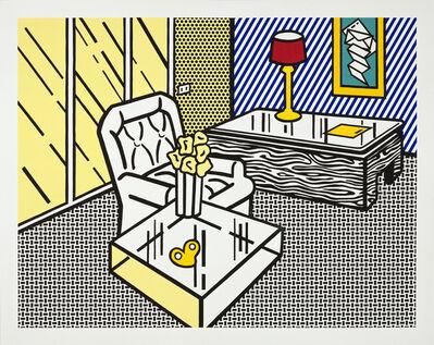 Roy Lichtenstein, 'The Den', 1991