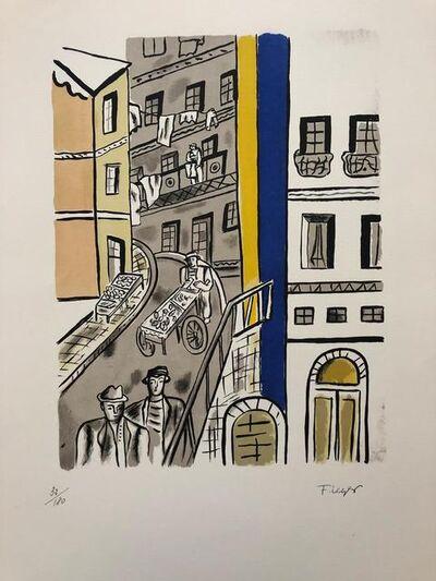 Fernand Léger, 'La rue', 1959