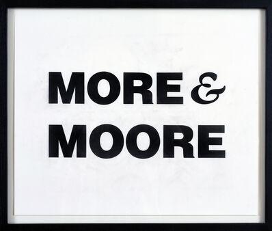 Kay Rosen, 'More', 1994