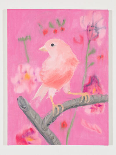 Ann Craven, 'Pink Canary (Stepping Out on Pink), 2017', 2017