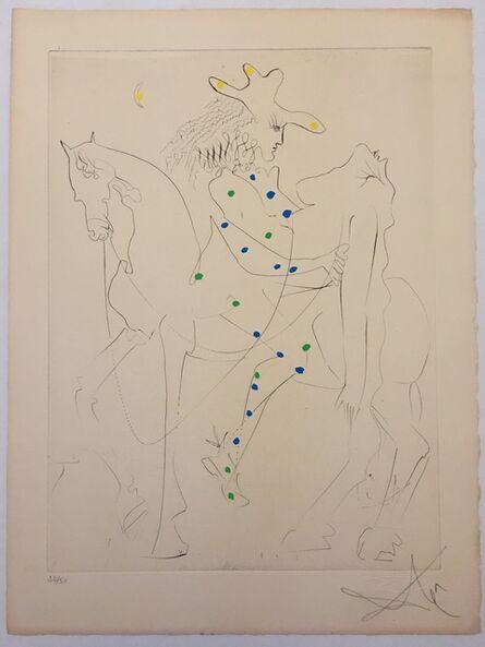 Salvador Dalí, 'Le Cheval de Picasso (Picasso's Horse)', 1968
