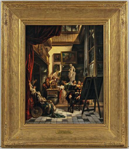 Louis Tielemans, 'Titian's Studio'