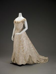 G. and E. Spitzer, 'Ball Gown', about 1900
