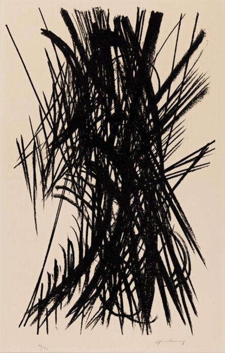 Hans Hartung, 'L18', 1957