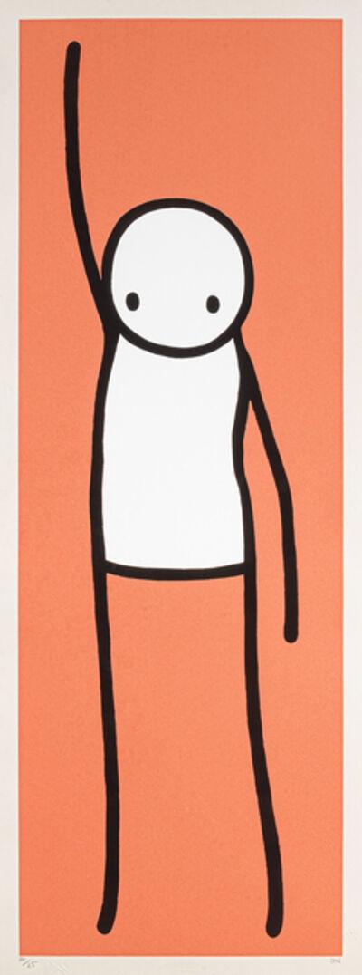 Stik, 'Liberty (Orange)', 2013