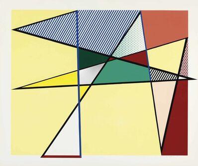 """Roy Lichtenstein, 'Imperfect 67 x 79 7/8"""", from Imperfect Series', 1988"""