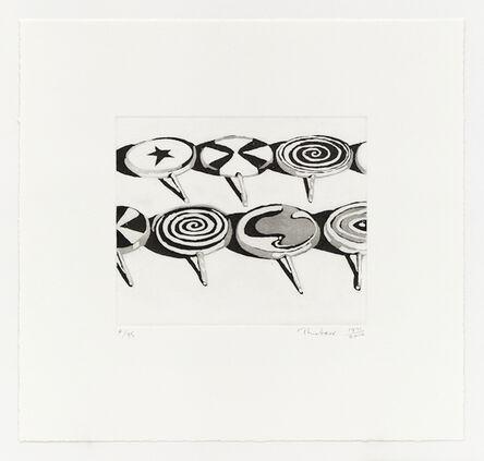 Wayne Thiebaud, 'Little Suckers', 1971/2014