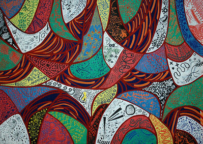 Pacita Abad, 'To paint with a twist', 1991