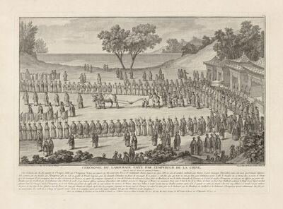 Isidore-Stanislaus-Henri Helman, 'C'r'monie du labourage faite par L'Empereur de la Chine... (plate XVII)', 1783