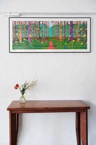 David Hockney, 'Arrival Of Spring', 2019