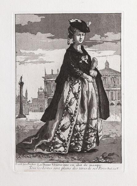 Giovanni David, 'La Dame Venitienne en abit de masque', 1775