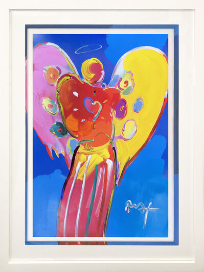 Peter Max, 'RED ANGEL WITH HEART III 2007 #118', 2007