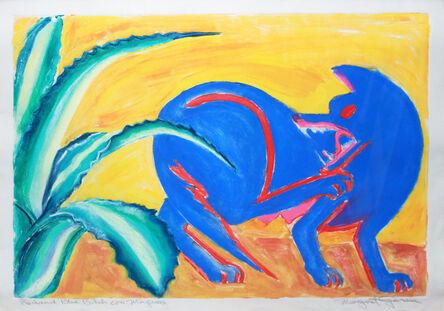 Margaret Garcia, 'Red & Blue Bitch con Maguey', 1988