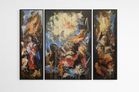 Mandy Racine, 'Conversion (triptych)', 2021