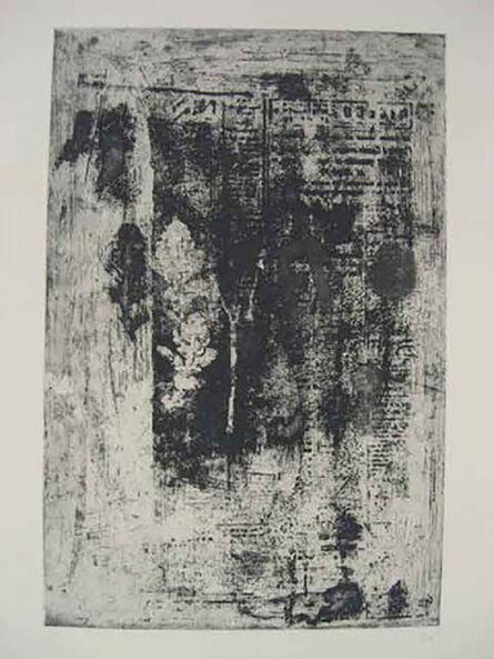 Antoni Clavé, 'Trois Feilles', 1966