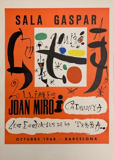 Joan Miró, 'Sala Gaspar Exhibition Poster', 1968